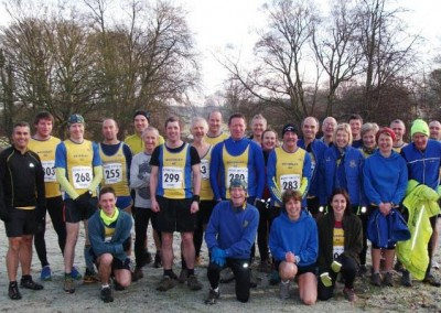 East Yorkshire Cross Country League 2013-2014 Race 4 Sledmere