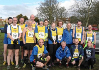 East Yorkshire Cross Country League 2015-2016 Race 6 Sewerby Sunday 26th March 2016
